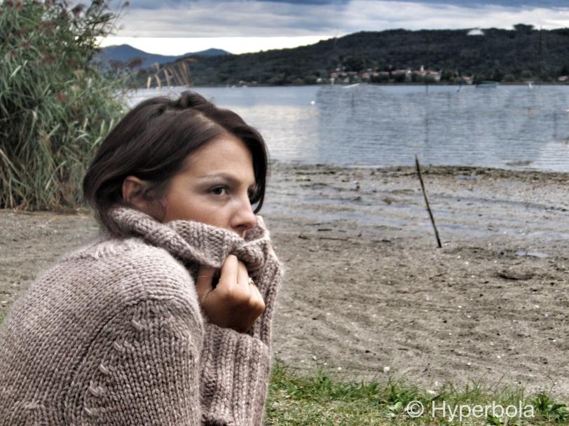 Maglione pura lana color grigio
