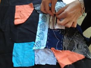 Corso di patchwork.....crazy patchwork!