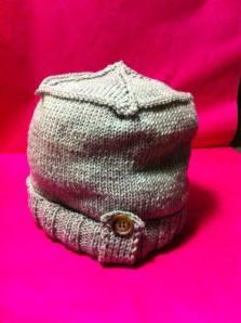 cappellino realizzato da una corsista